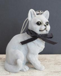 kortharige kat ornamentje/beeldje