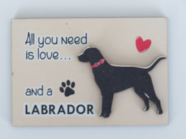 koelkastmagneet Labrador