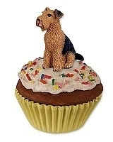 pupcake Airedale Terriër