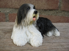 beeldje Bearded Collie