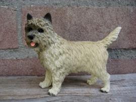 beeldje Cairn Terrier blond