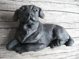 koelkastmagneet Labrador zwart