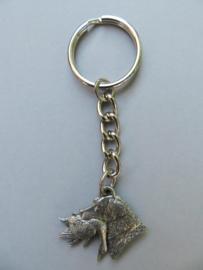 sleutelhanger Labrador met eend