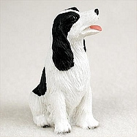 miniatuur Engelse Springer spaniel zwart-wit