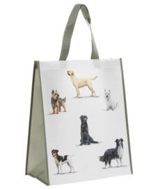boodschappentas diverse honden