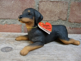 beeldje Dobermann puppy