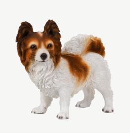 beeld Chihuahua langhaar staand   24 cm