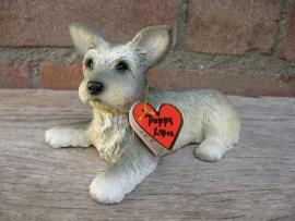 beeldje Skye Terrier puppy