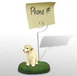 memohouder Labrador blond
