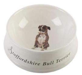 voerbak Staffordshire Bull Terriër