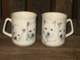 mok West Highland White Terriër pups