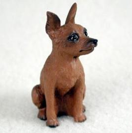 miniatuur Dwergpincher bruin