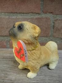 beeldje Pekinees puppy