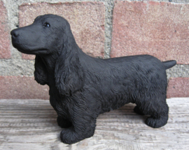 beeldje Engelse Cocker spaniel zwart