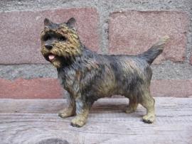 beeldje Cairn Terrier brindle