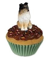pupcake Sheltie tricolour