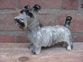 beeldje Schotse Terrier vintage