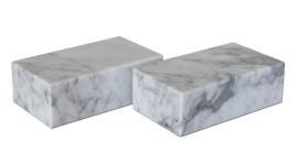 sokkel 7 x 12 x 4 cm grijs