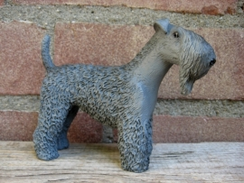 beeldje Kerry Blue Terrier