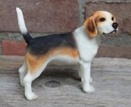 beeldje Beagle staand