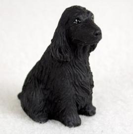 miniatuur Engelse Cocker spaniel zwart