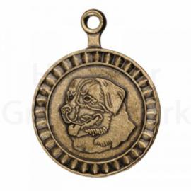 bronzen penning Berner Sennenhond