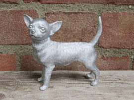 beeldje Chihuahua staand tricolour