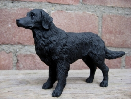 beeldje Flatcoated Retriever