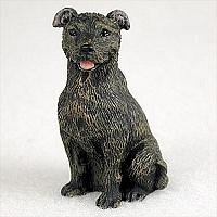 miniatuur Staffordshire Terriër brindle