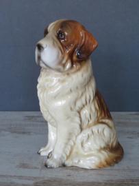 beeldje Sint Bernardhond vintage
