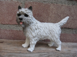 beeldje Cairn Terrier grijs