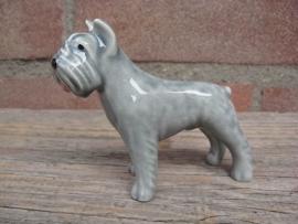 beeldje Bouvier grijs