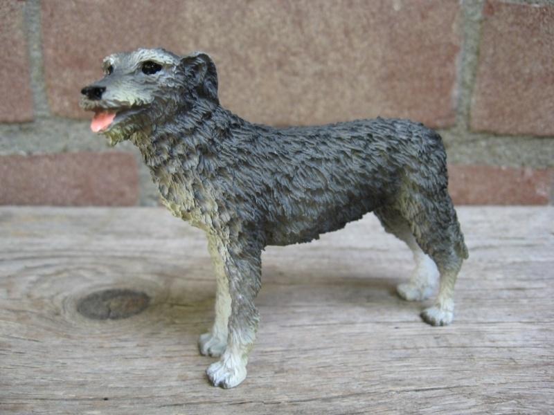 beeldje Ierse Wolfshond