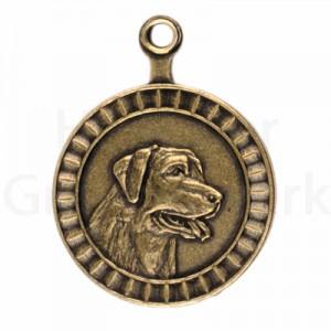 bronzen penning Labrador