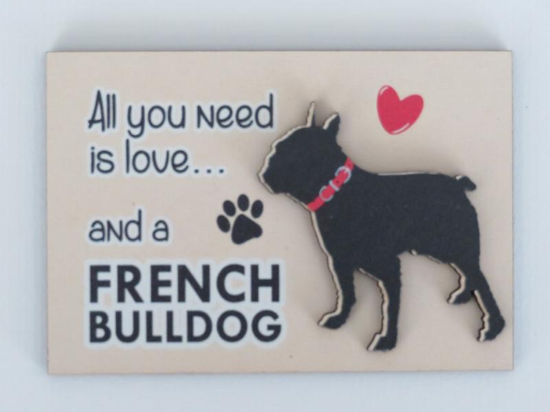 koelkastmagneet Franse Bulldog
