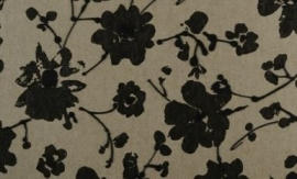18001 Metal Velvet Flower and Lin Artichaut Flamant Suite III