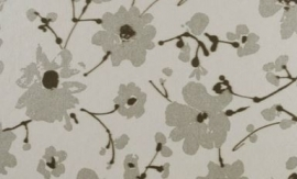 18005 Metal Velvet Flower and Lin Bone Flamant Suite III