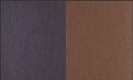 30001 Grande Stripe Havane et Cocolat Flamant Suite II Les Rayures