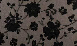18003 Metal Velvet Flower and Lin Tartuffo Flamant Suite III