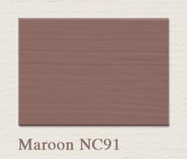 NC91 Maroon Painting The Past Wandfarbe