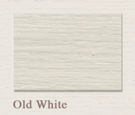 Old White OUTDOOR Lack Painting The Past