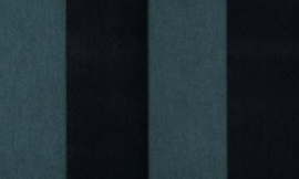 18109 Stripe Velvet and Lin Bottle Green Flamant Suite III