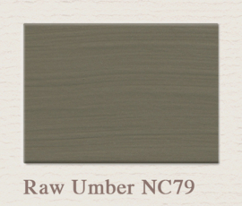 NC79 Raw Umber Painting The Past Wandfarbe
