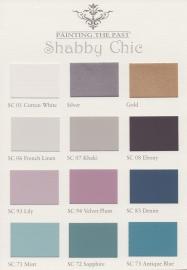 Farbkarte Shabby Chic