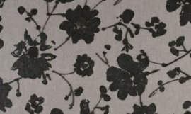 18004 Metal Velvet Flower and Lin Dauphin Flamant Suite III