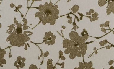 18008 Metal Velvet Flower and Lin Galet Flamant Suite III