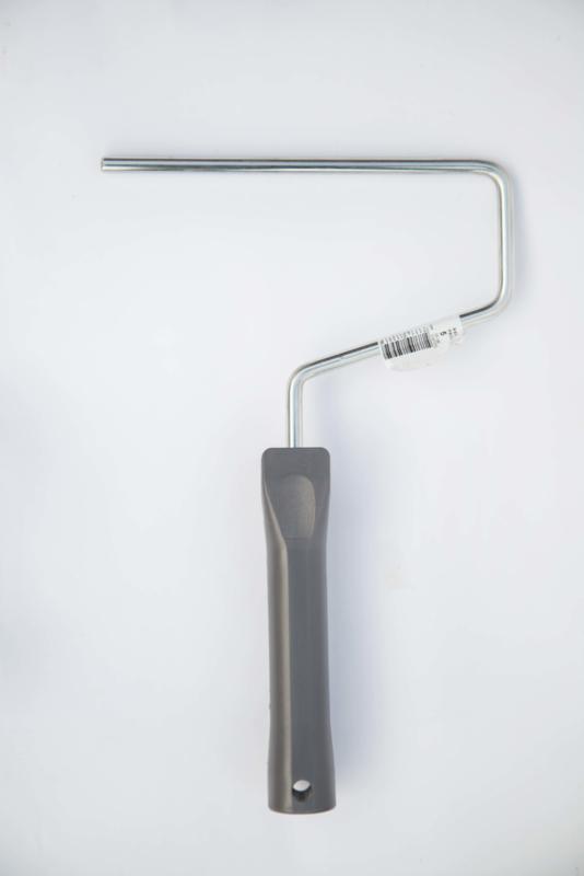 Farbbügel grau   18 cm, 8 mm