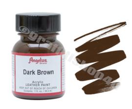 Angelus Leerverf 29ml  Dark Brown