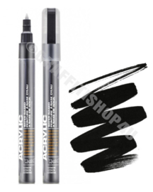 Montana Acrylic Marker 0,7mm Shock Black