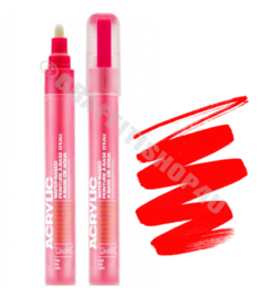 Montana Acrylic Marker  2mm F3000 Fire Red